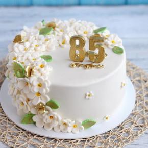 №124 Торт на 85 лет