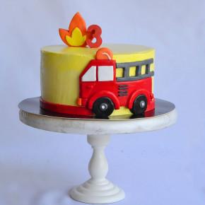 №144 Торт Машина