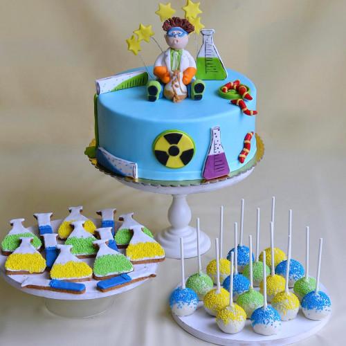 №145 Торт Наука
