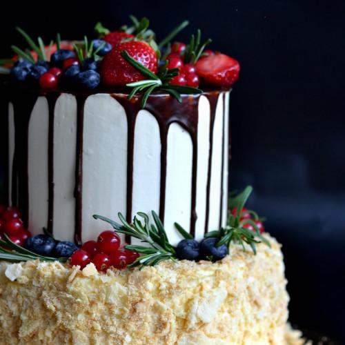 №172 Торт с ягодами