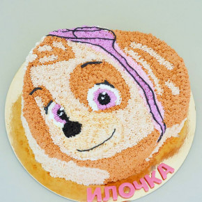 №208 Торт Щенок