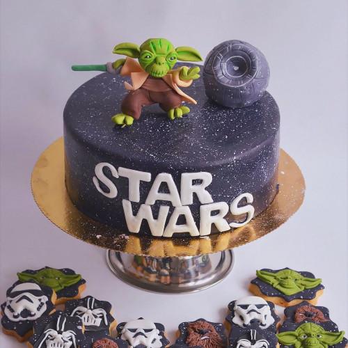 №239 Торт Звездные войны