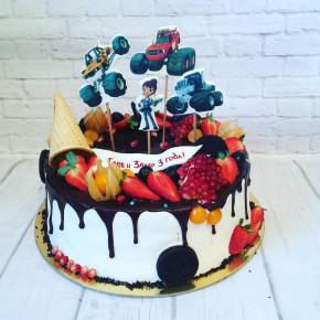 №257 Торт с фотопечатью