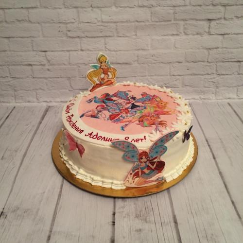 №261 Торт феи Винкс