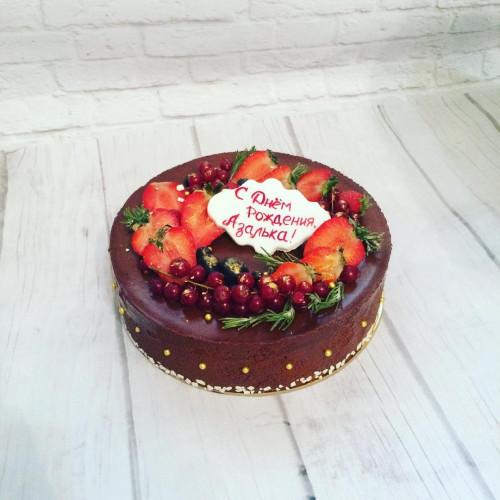 №279 Шоколадный торт