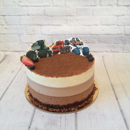 №289 Торт три шоколада