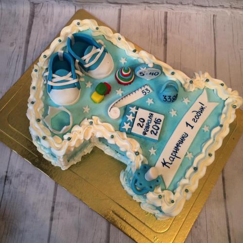 №302 Торт на 1 годик