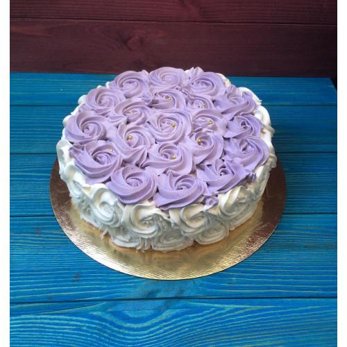 №337 Торт с кремом чиз