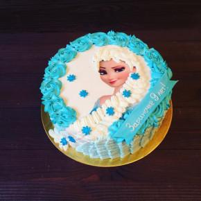 №360 Торт Эльза