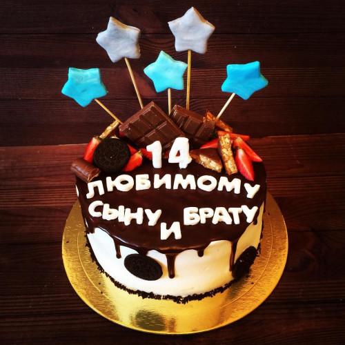 №362 Торт с пряниками