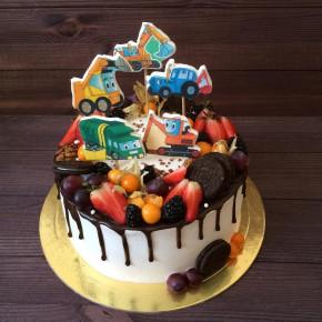 №371 Торт машинки