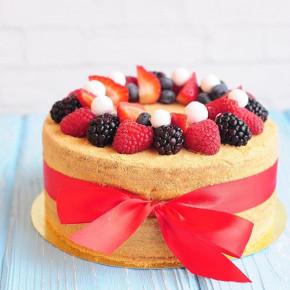 №39 Торт с ягодами