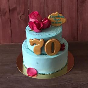 №410 Торт на юбилей