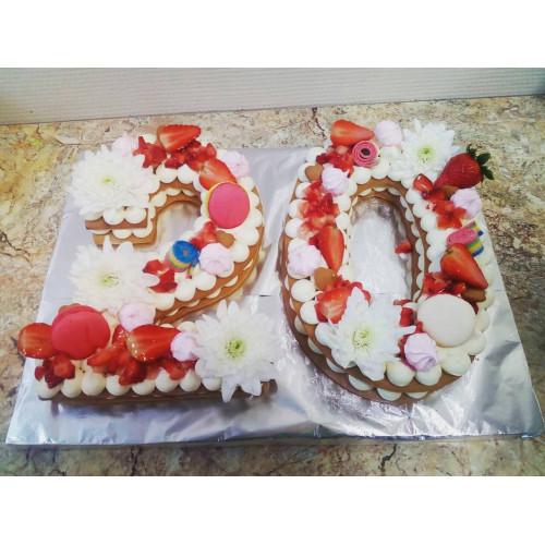№423 Торт на 20 лет юбилея