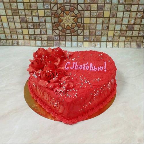 №437 Торт с любовью жене