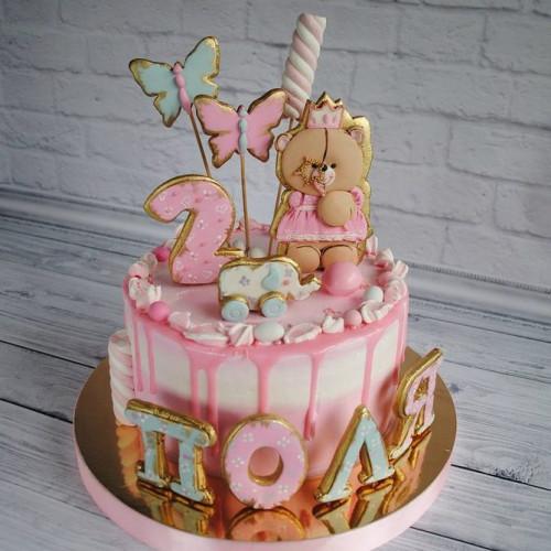 №449 Торт дочке 2 года