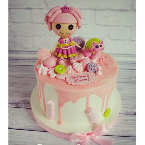 №452 Торт с куклой