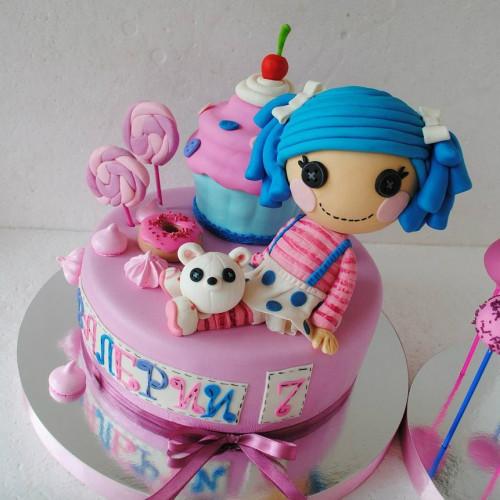 №461 Торт девочке 7 лет