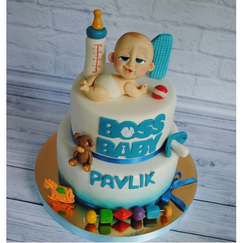№464 Торт сыну 1 год