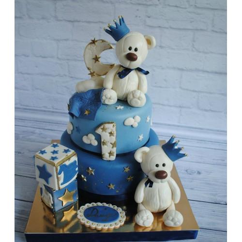 №467 Детский торт на 1 год