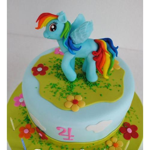 №472  Торт пони 4 года