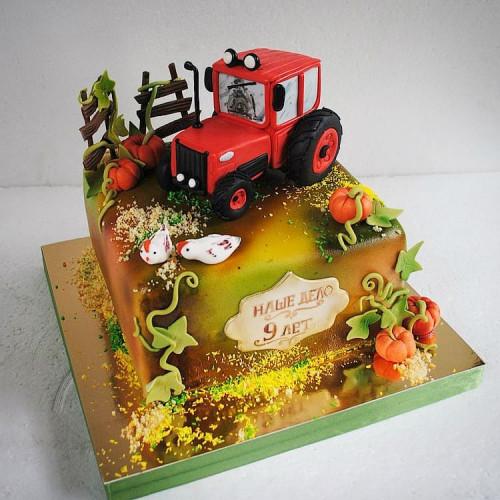 №492 Торт юбилей компании