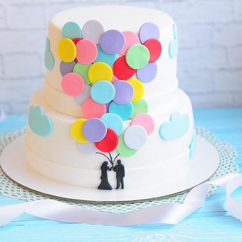 №56 Торт влюбленным