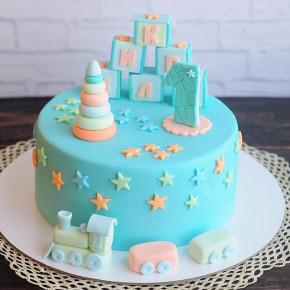 №73 Торт 1 годик